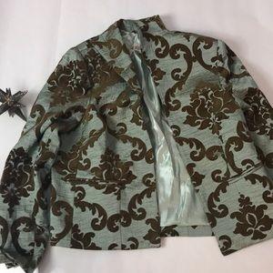 3 Sisters Tapestry blazer
